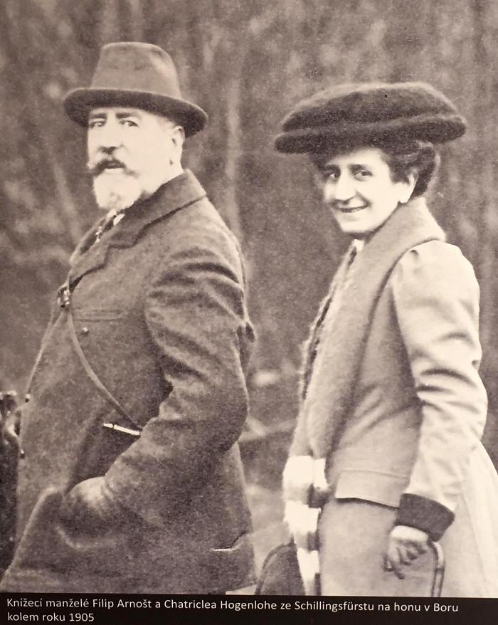 manželský knížecí pár, který založil lázně